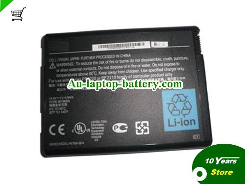 HP COMPAQ Business Notebook NX9110-DU445ES Battery 4000mAh 14.8V Black Li-ion