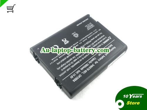 HP COMPAQ 378858-001 Battery 6600mAh 14.8V Black Li-ion