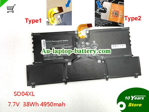 AU Genuine SO04XL S004XL Battery for HP Spectre 13 Series Laptop