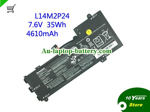 AU L14M2P24 L14S2P22 Battery For Lenovo E31 U31 Series Laptop