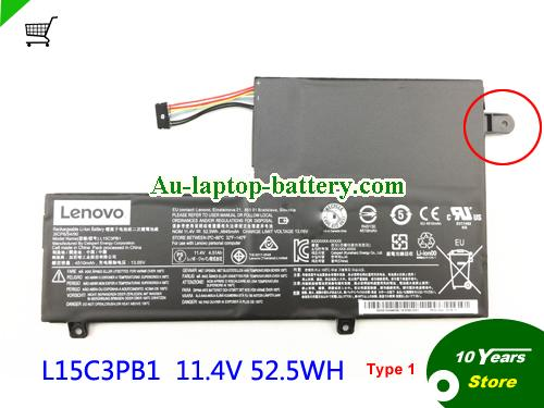 AU Lenovo L15C3PB1 Rechargeable Li-ion battery 52.5Wh