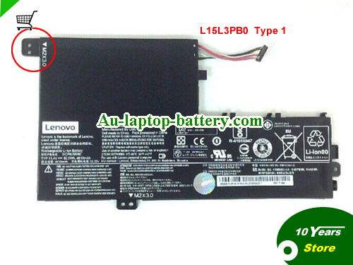 AU 53Wh Genuine Lenovo L15L3PB0 L15L3PBO Battery Pack