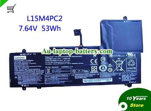 AU Lenovo L15M4PC2 Battery Rechargeable For YOGA 710-14 Series