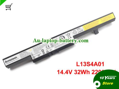 LENOVO L13L4A01 Battery 2200mAh, 32Wh  14.4V Black Li-ion