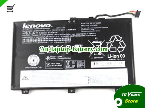 AU SB10F46439 00HW001 Battery For Lenovo ThinkPad S3 Yoga 14