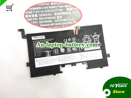 AU Genuine Lenovo SB10F46444 Laptop Battery