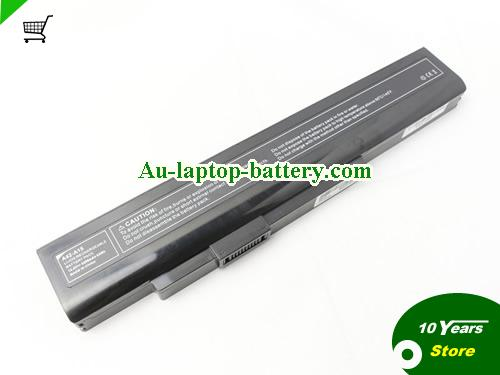 AU New and high quality  MEDION A32-A15, P7815, P6815, A42-A15,  Black, 4400mAh, 63Wh  14.4V