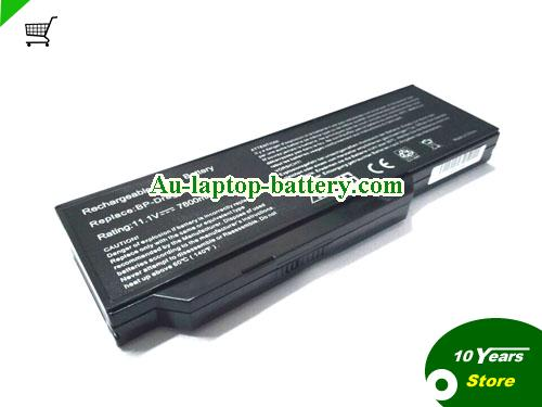 AU New and high quality  1TEGRATION NOTE 8207D, 8207I,  Black, 7800mAh 11.1V