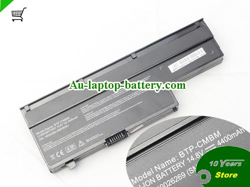 AU BTP-D2BM BTP-CMBM 40027261 Battery For Medion Akoya P6613 P6615 P6618 P6619 P6620 E6211 E6212 Laptop 8 Cells