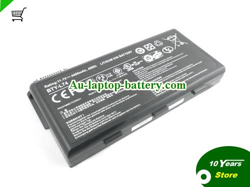 AU New MSI A6200 CX600X A5000 A6000 CR700 BTY-L74 BTY-L75 Battery