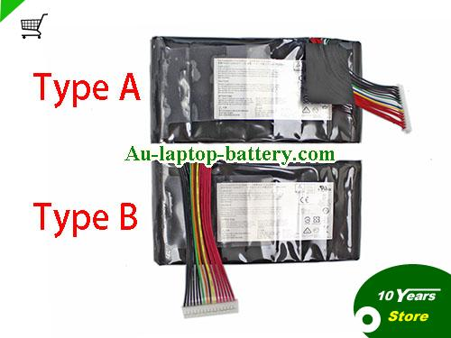 AU Genuine BTYL78 BTY-L78 Battery For MSI Laptop 75Wh