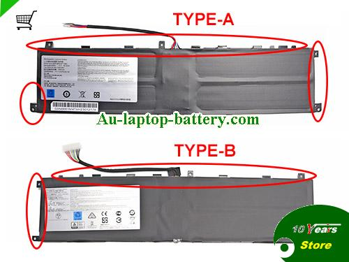 AU MSI BTY-M6L Battery Li-Polymer Rechargeable 15.2v 80.25Wh