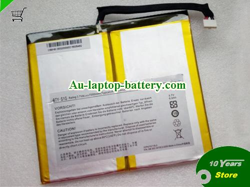 AU MSI BTY-S1G Battery Li-Polymer 3.7v 7000mAh Rechargeable