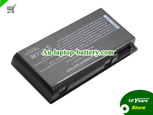 AU New MSI 957-16FXXP-101, BTY-M6D, S9N-3496200-M47, Replacement Battery For MSI, GX780R, GX780DXR, GX780DX, GX780, GX680R, GX680, GX660R Series 9 Cells