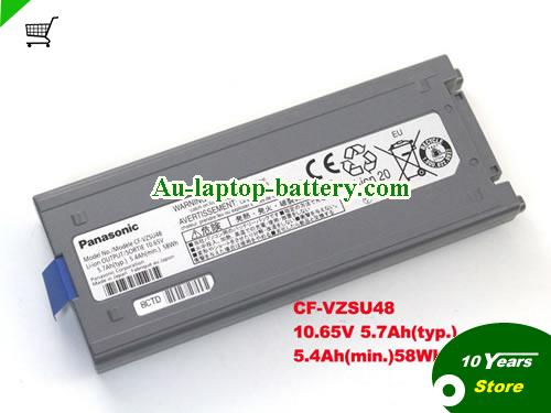 AU Genuine Battery CF-VZSU48 CF-VZSU48U For Panasonic TOUGHBOOK CF-19 Series Laptop 10.65V 5.7Ah
