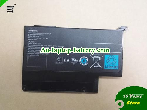 SONY Tablet S1 Battery 5000mAh, 18.5Wh  3.7V Black Li-ion
