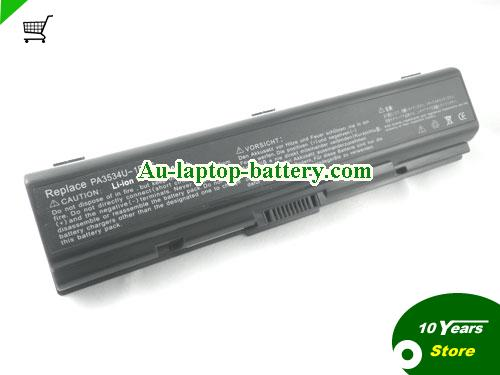 TOSHIBA Dynabook AX/55F Battery 6600mAh 10.8V Black Li-ion