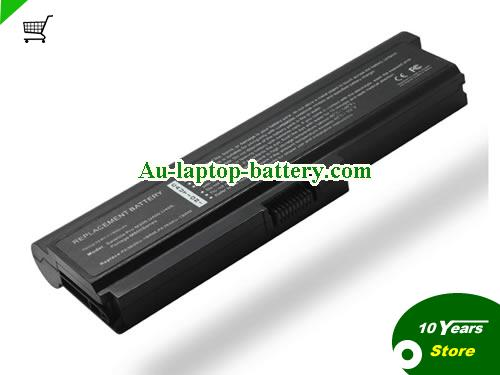 TOSHIBA PA3636U-1BAL Battery 7800mAh 10.8V Black Li-ion