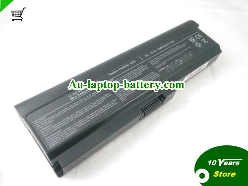 TOSHIBA PA3817U-1BAS Battery 7800mAh 10.8V Black Li-ion