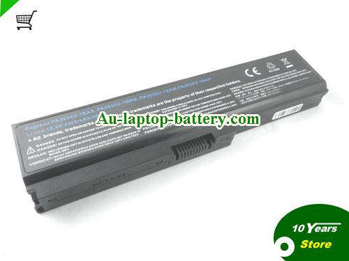 TOSHIBA PA3817U-1BAS Battery 5200mAh 10.8V Black Li-ion