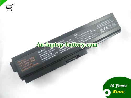 TOSHIBA PABAS178 Battery 8800mAh 10.8V Black Li-ion