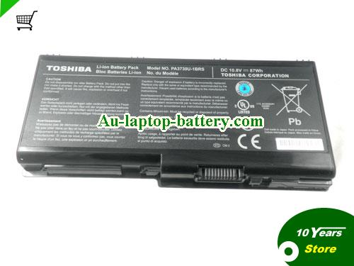 AU Toshiba PA3729U-1BRS,PA3730U-1BRS laptop battery, 87WH, 9cells