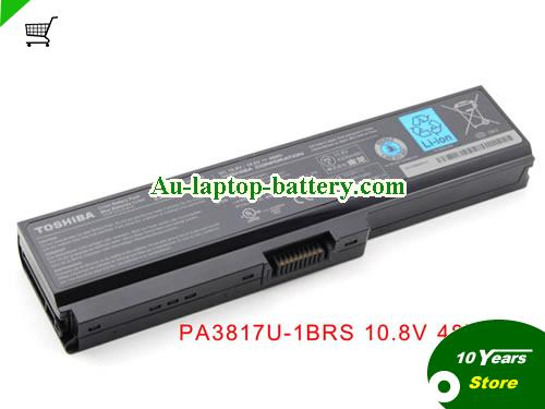 TOSHIBA PABAS178 Battery 4400mAh 10.8V Black Li-ion