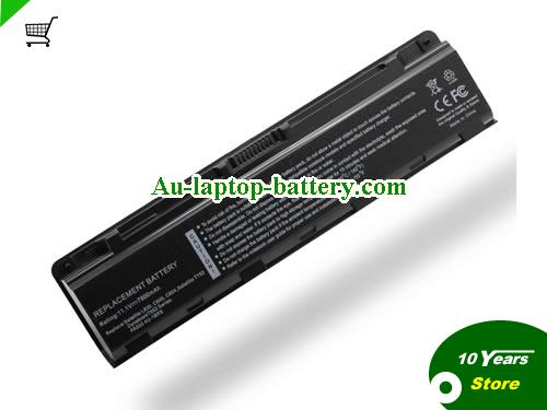 AU Replacement laptop battery for TOSHIBA PA5024U-1BRS, M805-T03T, Satellite M800 Series, PA5108U-1BRS, Black, 7800mAh 11.1V