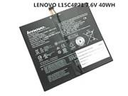 Original LENOVO L15C4P71 Battery,  7.6V, 40WH