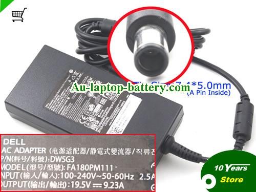 FA180PM111 Dell 19.5V 9.23A Laptop AC Adapter, 180W