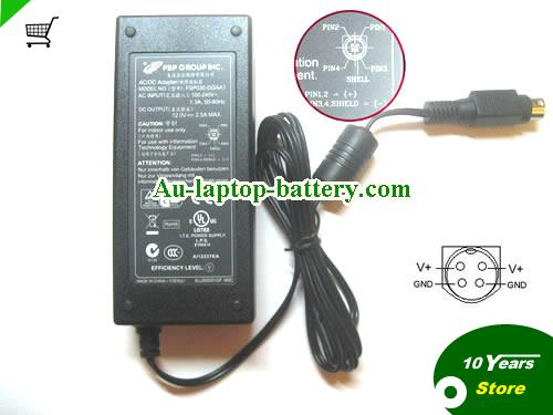 TVVR20001 ABUS 12V 2.5A Laptop AC Adapter, 30W