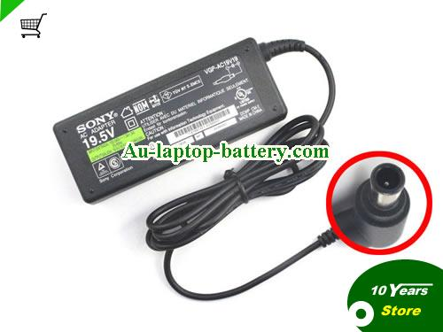 VGP-AC19V16 SONY 19.5V 3.9A Laptop AC Adapter, 75W
