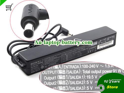 VGP-AC19V16 SONY 19.5V 4.7A Laptop AC Adapter, 92W